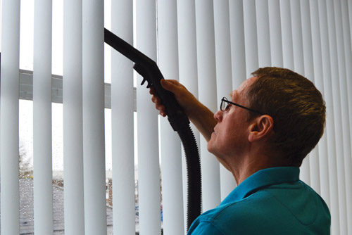 blinds cleaning steam cleaning